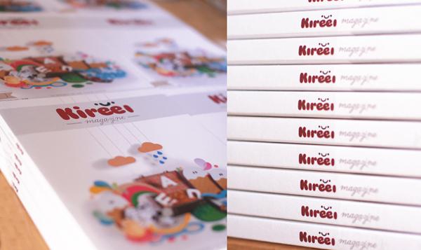 El número 1 de Kireei magazine edición impresa ya está en la calle