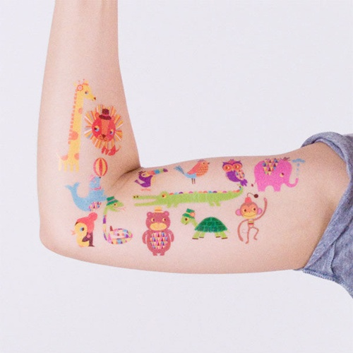 Tatuajes temporales para niños de Tattly