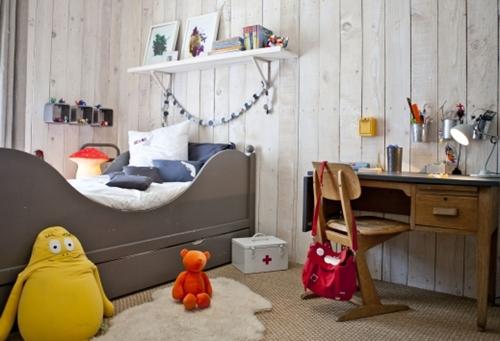Dormitorios infantiles chics y urbanos