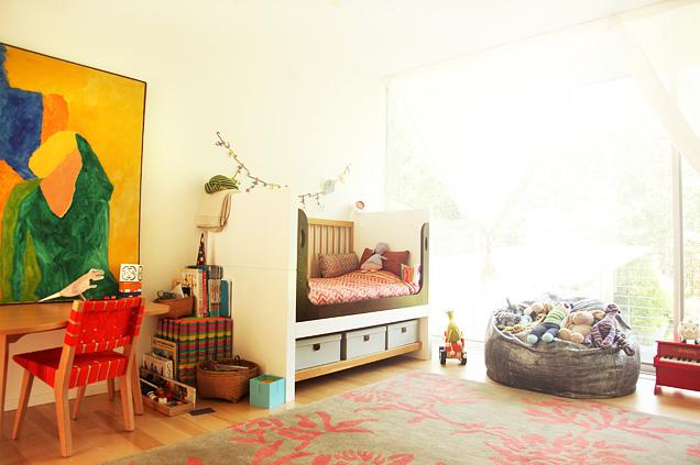 Color y Arte en la habitación de los niños
