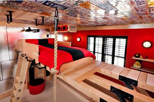 Habitacion infantil original escaladores - Dormitorio infantil original ...