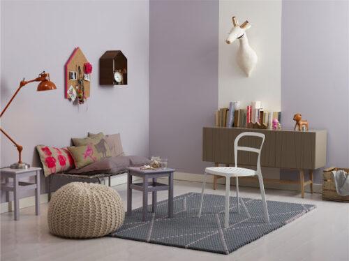 Dormitorios infantiles el color de las paredes decopeques - Colores de paredes para habitaciones ...