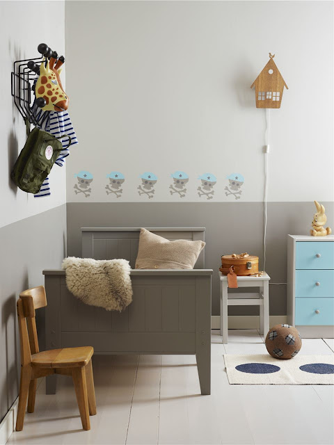 Dormitorios infantiles el color de las paredes decopeques - Decorar habitacion infantil nino ...