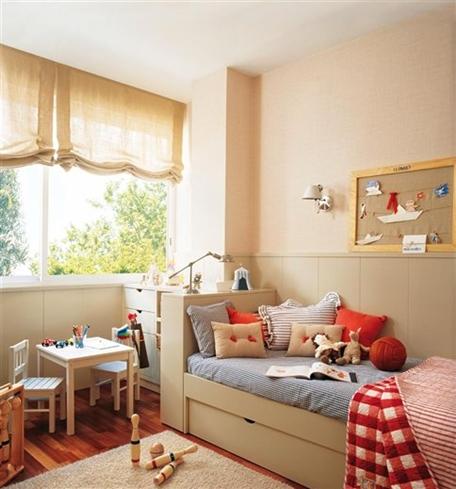 Dormitorios infantiles para beb s y ni os for Habitaciones ninos el mueble