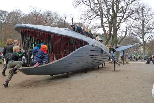 Espacios cool para niños: Parque en Gotermburg