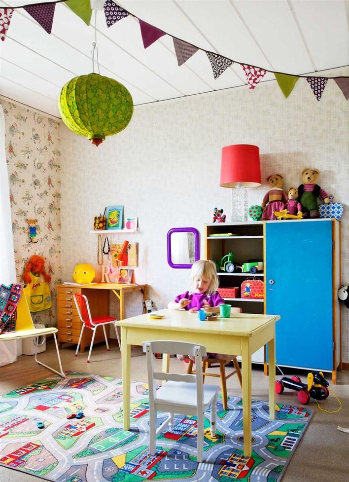 habitacin para nios a tope de color with decoracion de habitacion para nios