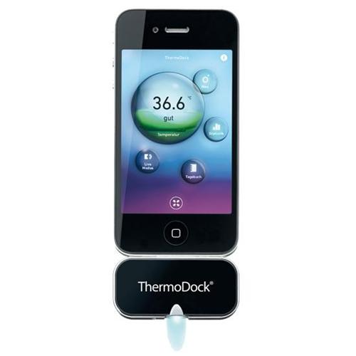 Mide la temperatura de los niños con el iPhone
