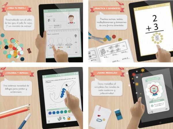 Cuadernillos Rubio para el iPad (de 3 a 12 años)