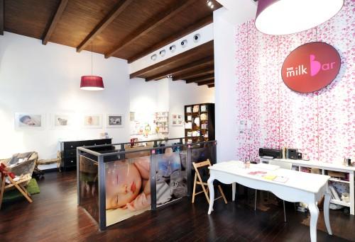 Espacios Cool para niños …. The Milk Bar Milano