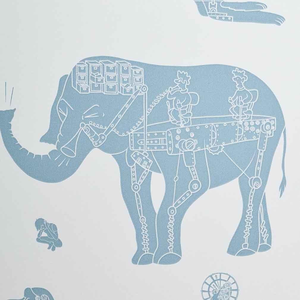 Papeles pintados infantiles paper boy wallpaper - Papeles pintados originales ...