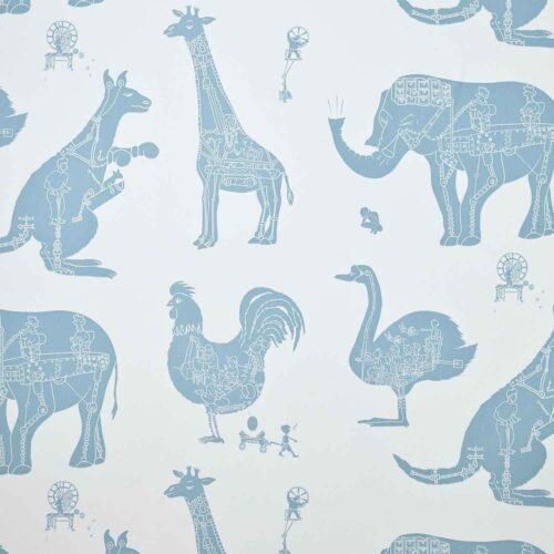 Papeles pintados infantiles paper boy wallpaper - Papeles pintados para bebes ...