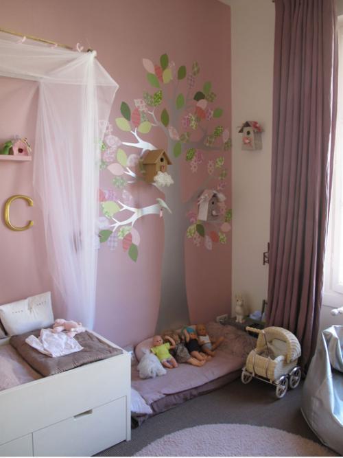 Ambientes que inspiran habitaciones infantiles en paris - Cortinas para habitacion infantil ...
