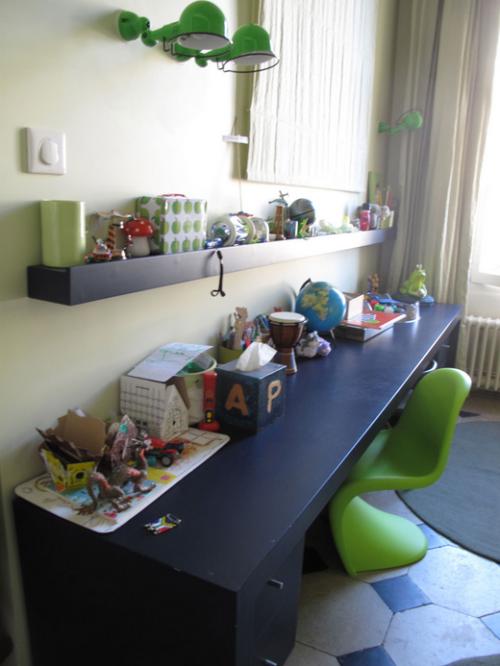 Ambientes que inspiran habitaciones infantiles en paris - Habitaciones infantiles azules ...