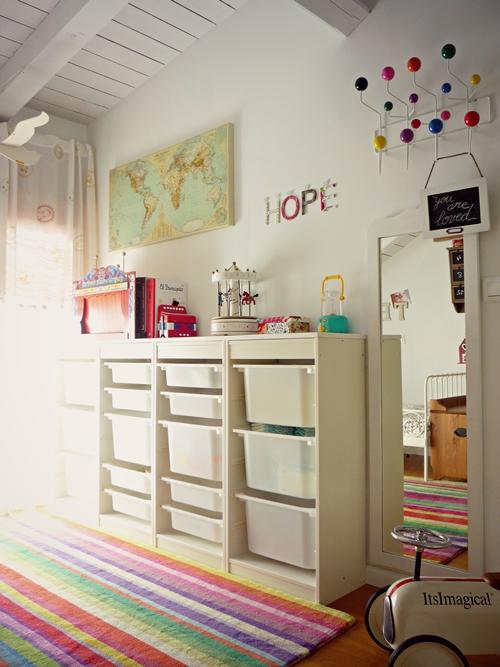 dormitorio infantil vintage ikea