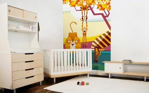 Murales adhesivos de pared para habitaciones infantiles - Adhesivos para pared infantiles ...