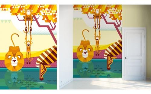 Murales adhesivos de pared para habitaciones infantiles for Adhesivos pared ninos