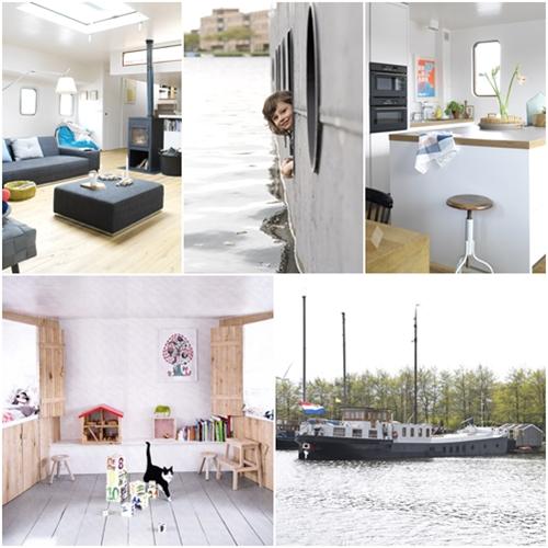 Soltar amarras dormitorio infantil flotante decopeques - Ver casas de madera por dentro ...