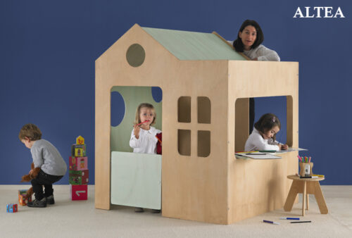 Casitas infantiles de interior decopeques - Casa de madera infantil ...