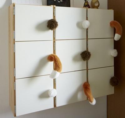 Diy tiradores salvajes decopeques - Tiradores originales para muebles ...