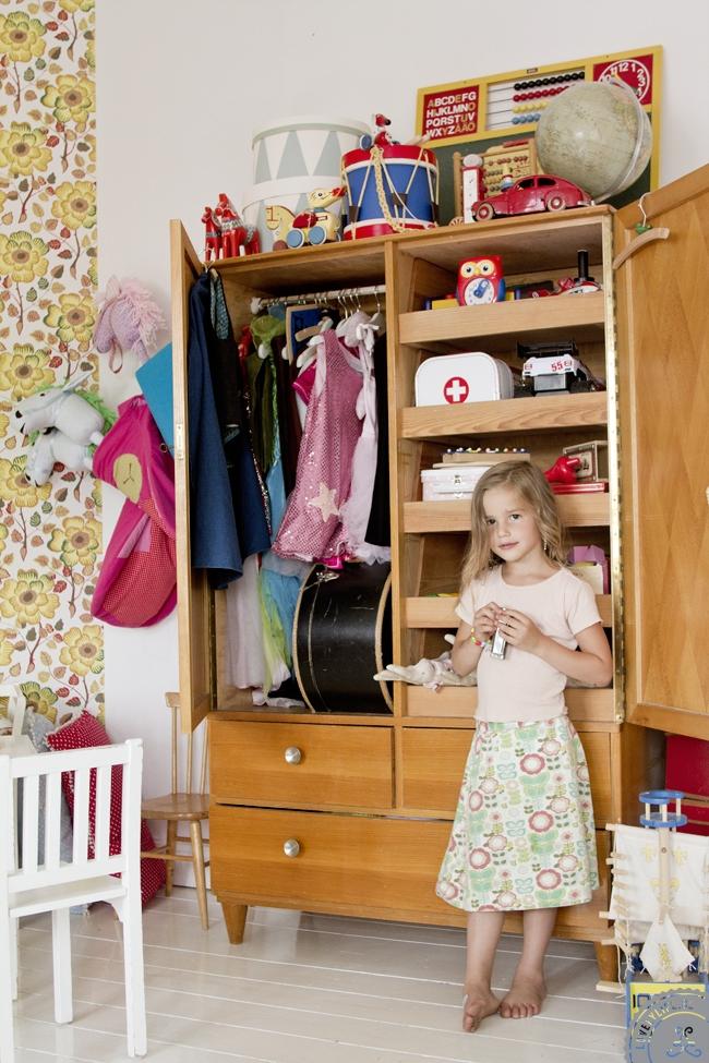 Habitación de los niños en casa de … Mokkasin