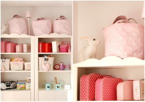 Habitaci n para ni a en rosa decopeques Detalles en habitaciones de hotel