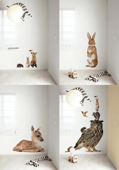 animales vinilos infantiles 3