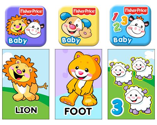 Inglés para bebés con las apps de Fisher Price