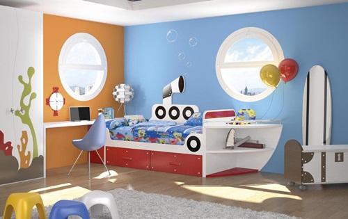 Muebles infantiles tematizados la opci n decorativa que - Dormitorio infantil original ...