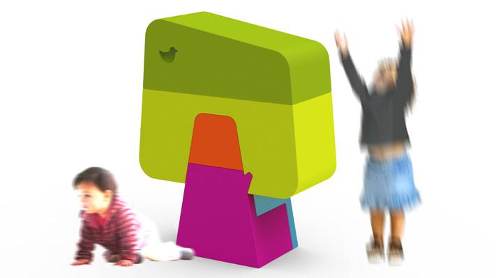 Muebles infantiles de Sotano Studio