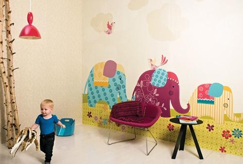 papel pintado infantil coordonne 1