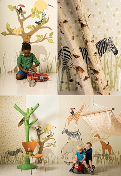 papel pintado infantil coordonne 6