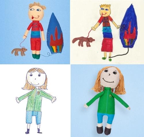 personalizado dibujo niño 2