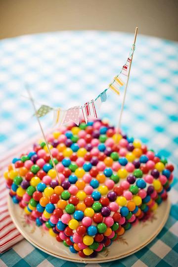 Tarta de cumpleaños express