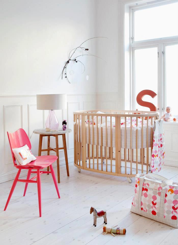 Color Shock en la Habitación del Bebé
