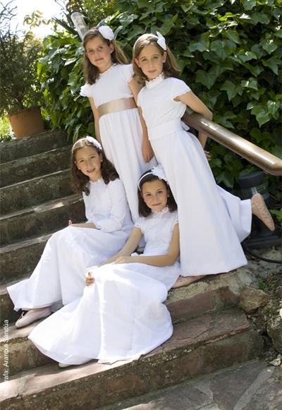 vestido de comunion de teresa palazuelo
