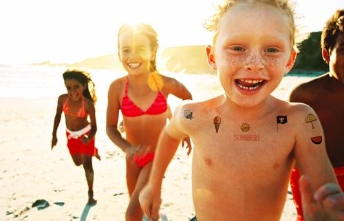 tatuajes para niños 4