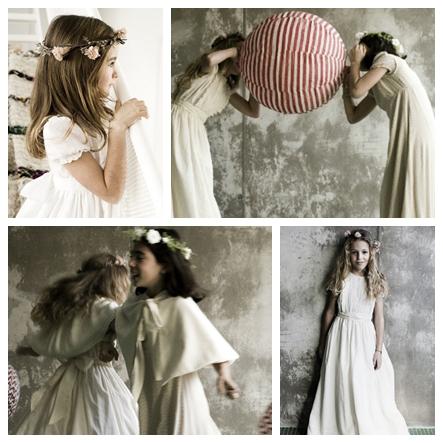 Patrones de vestidos de comunion niрів±a
