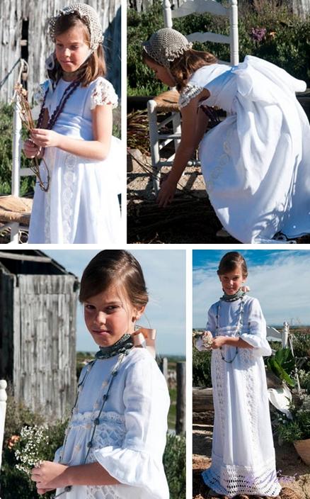 vestidos de comunion by nine