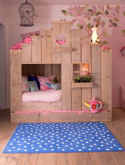 Casitas infantiles de madera para Dormir