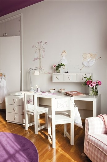 habitacion infantil con casita 4