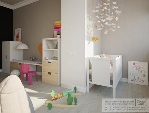 Habitación infantil funcional y bonita