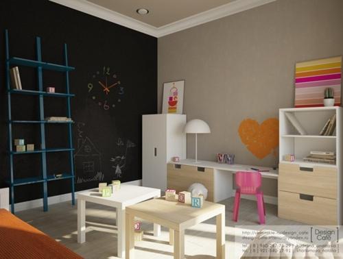 Muebles de ikea en la habitaci n infantil for Muebles infantiles ikea