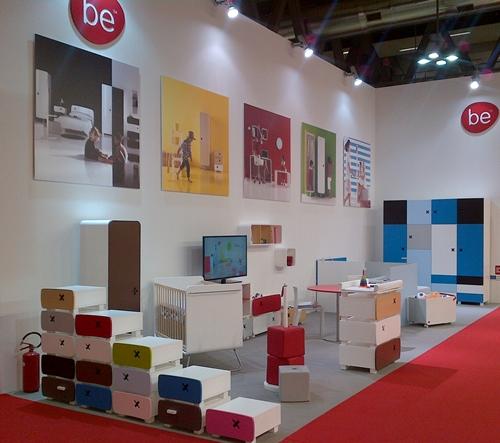 Novedades en la Feria de Milán… Mobiliario Be