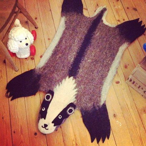 alfombra animales
