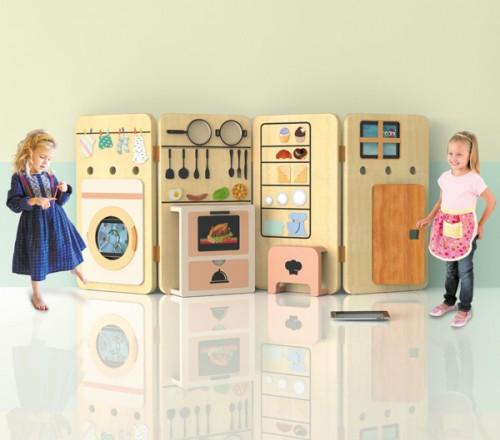 espacio de juegos para niños