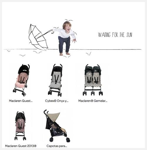fundas para sillas de paseo 3