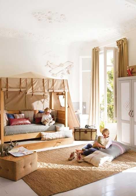 habitaciones niños naturales 5