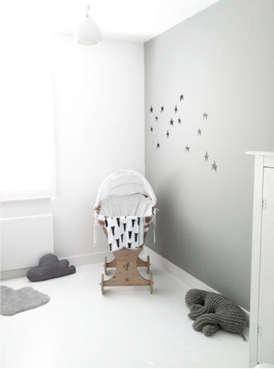 habitaciones infantiles en gris 1