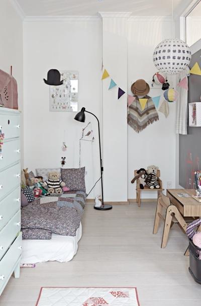 habitaciones infantiles en gris 11