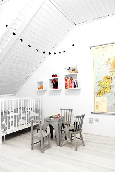 habitaciones infantiles en gris 4